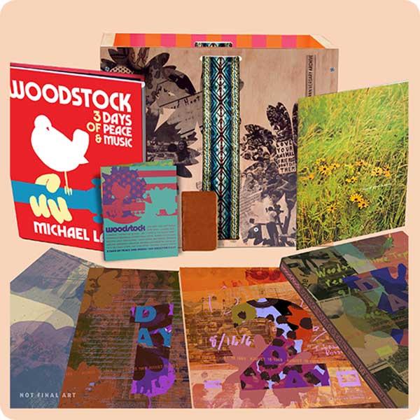 Woodstock comemora 50 anos com box gigante de 432 faixas