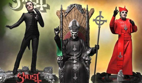 Ghost ganha bonecos colecionáveis de Cardinal Copia e Papa Emeritus II
