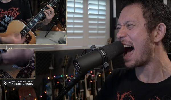 """Matt Heafy, do Trivium, faz cover acústico de """"Unsainted"""" do Slipknot"""