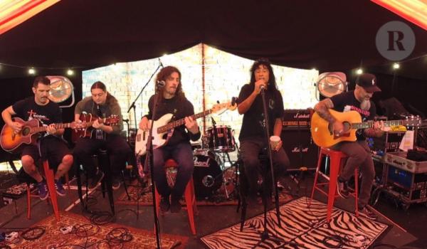 Anthrax toca set acústico no Download Festival; assista aqui