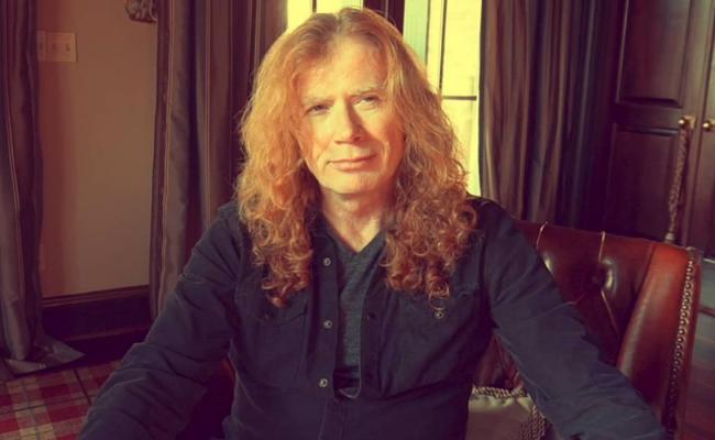 Dave Mustaine é diagnosticado com câncer na garganta