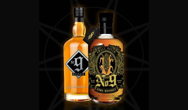 Slipknot anuncia lançamento de whiskey, No 9 Iowa