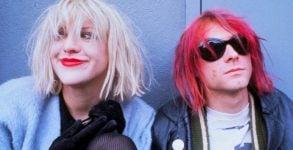 Courtney Love disse que já viu o fantasma de Kurt Cobain