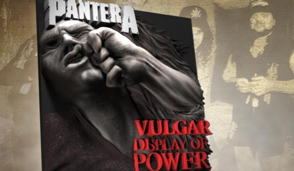 Pantera: 'Vulgar Display of Power' será relançado em vinil com capa 3D
