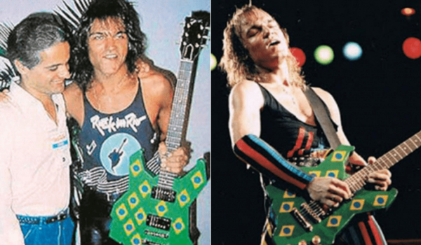Scorpions irá tocar no Rock in Rio 2019 com a mesma guitarra que usou na edição de 1985