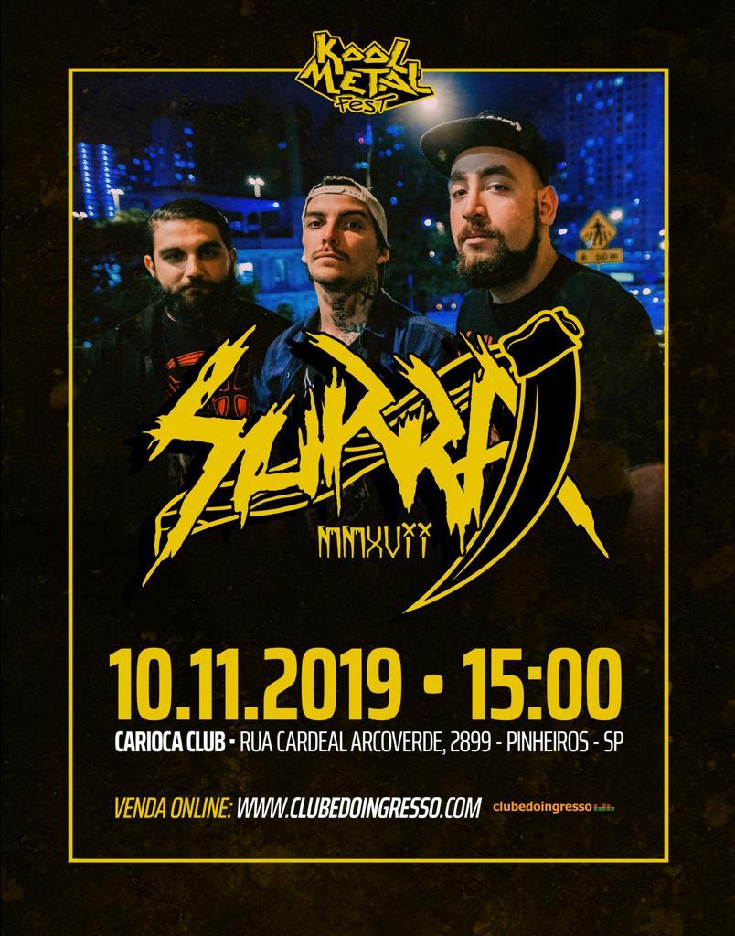 Surra no Kool Metal Fest